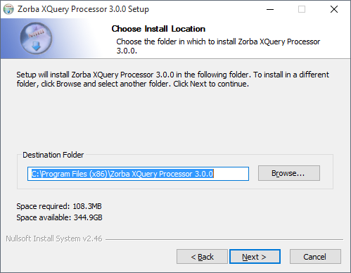 Detail Prosesor Zorba Xquery